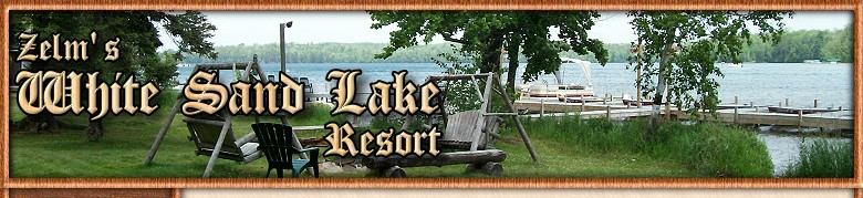 Lac Du Flambeau Wisconsin Vacation Cabin Rentals at Zelms White Sand Lake Resort for Lac Du Flambeau Wisconsin Vacations