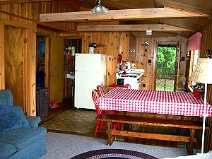 White Sand Lake Resort in Lac Du Flambeau Wisconsin