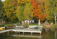 Lake seating dock